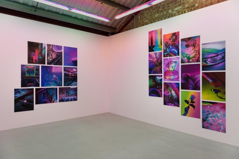 Installation view 2017, Signe Pierce, Annka Kultys