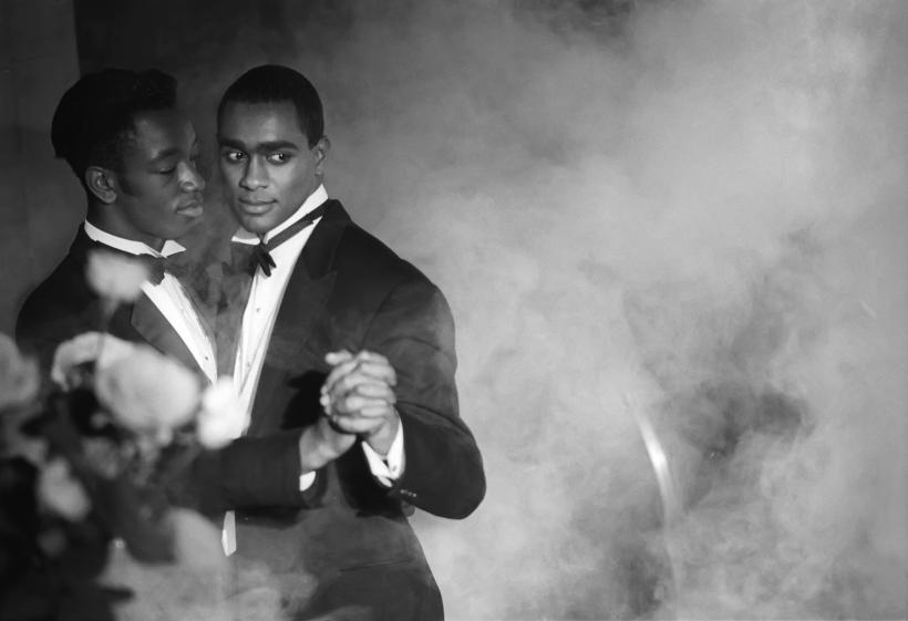 Isaac Julien, Pas de Deux No. 2 (Looking for Langston Vintage Series), 1989/2016, Kodak Premier print, Diasec mounted on aluminum 180 x 260 cm (70 7/8 x 102 3/8 in)