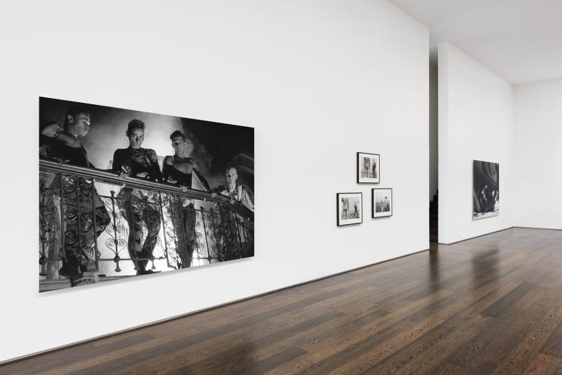 "Installation view, Isaac Julien: ""I dream a world"" Looking for Langston"