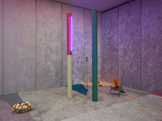 Alex Da Corte, Slow Graffiti, installation view