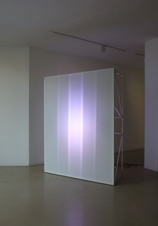 All Colours White, 2017, Glitches, Installation View, Galerie Ron Mandos, 2017