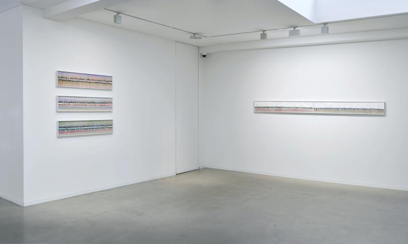 Glitches, Installation View, Galerie Ron Mandos, 2017