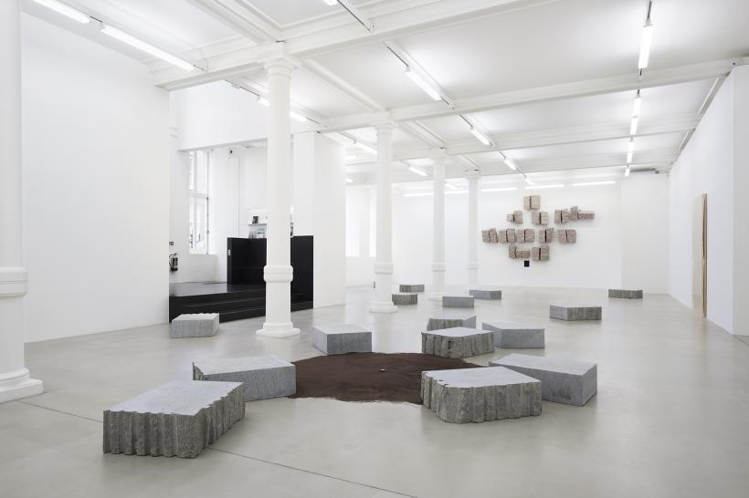 Giovanni Anselmo, Installation at Marian Goodman Gallery, London