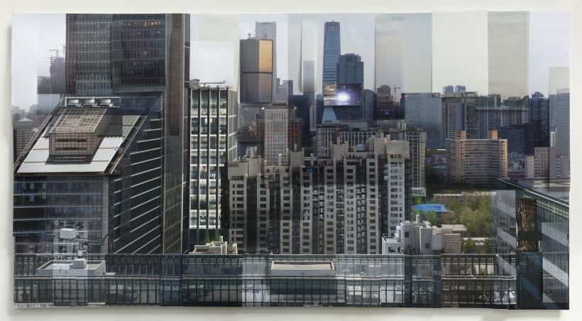 Ji Zhou, Building 1, 2017, archival pigment print, 120 x 230 cm