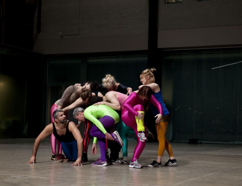 Roman Photo by Boris Charmatz. As part of BMW Tate Live: If Tate Modern was Musée de la danse? Tate Modern.