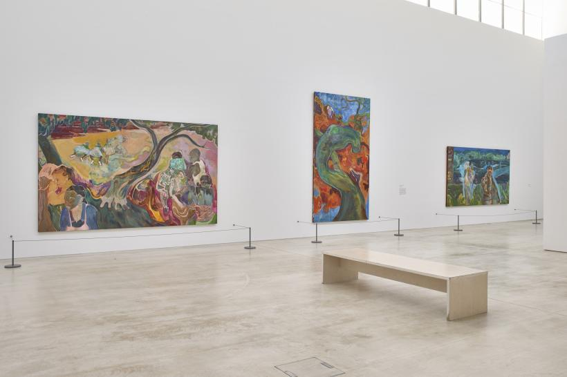 Michael Armitage, installation view, Turner Contemporary