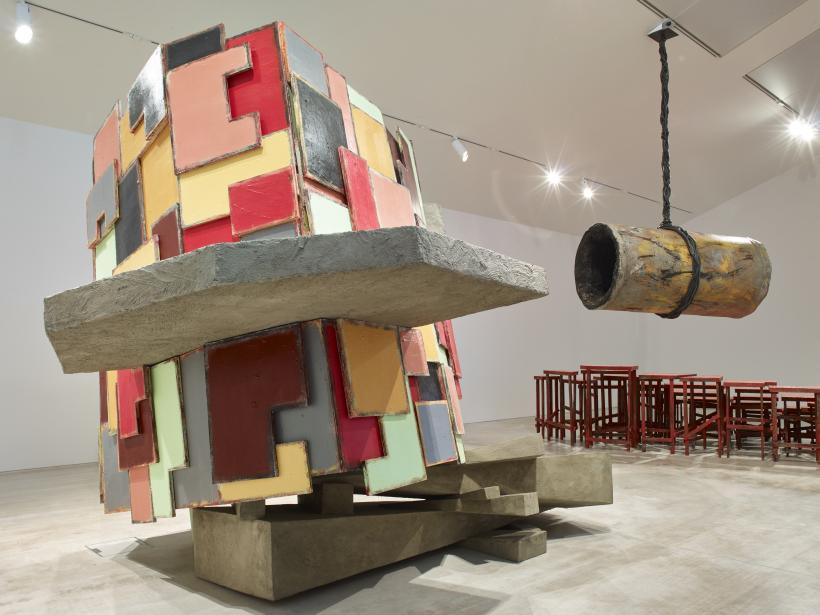 Phyllida Barlow, installation view, Turner Contemporary