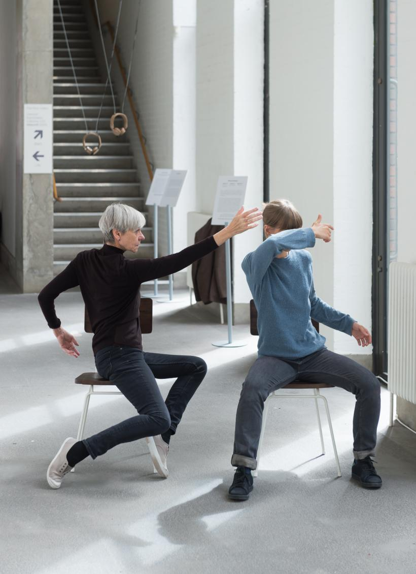 Siobhan Davies Dance, Material / rearranged / to / be at Bluecoat, 2017