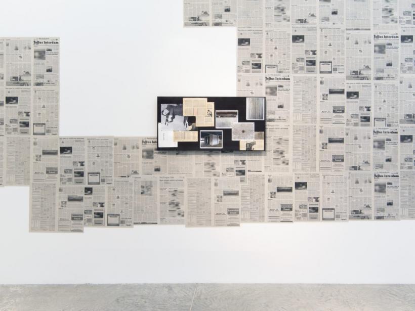 concrete realities, 2017, installation view, Bortolami, New York