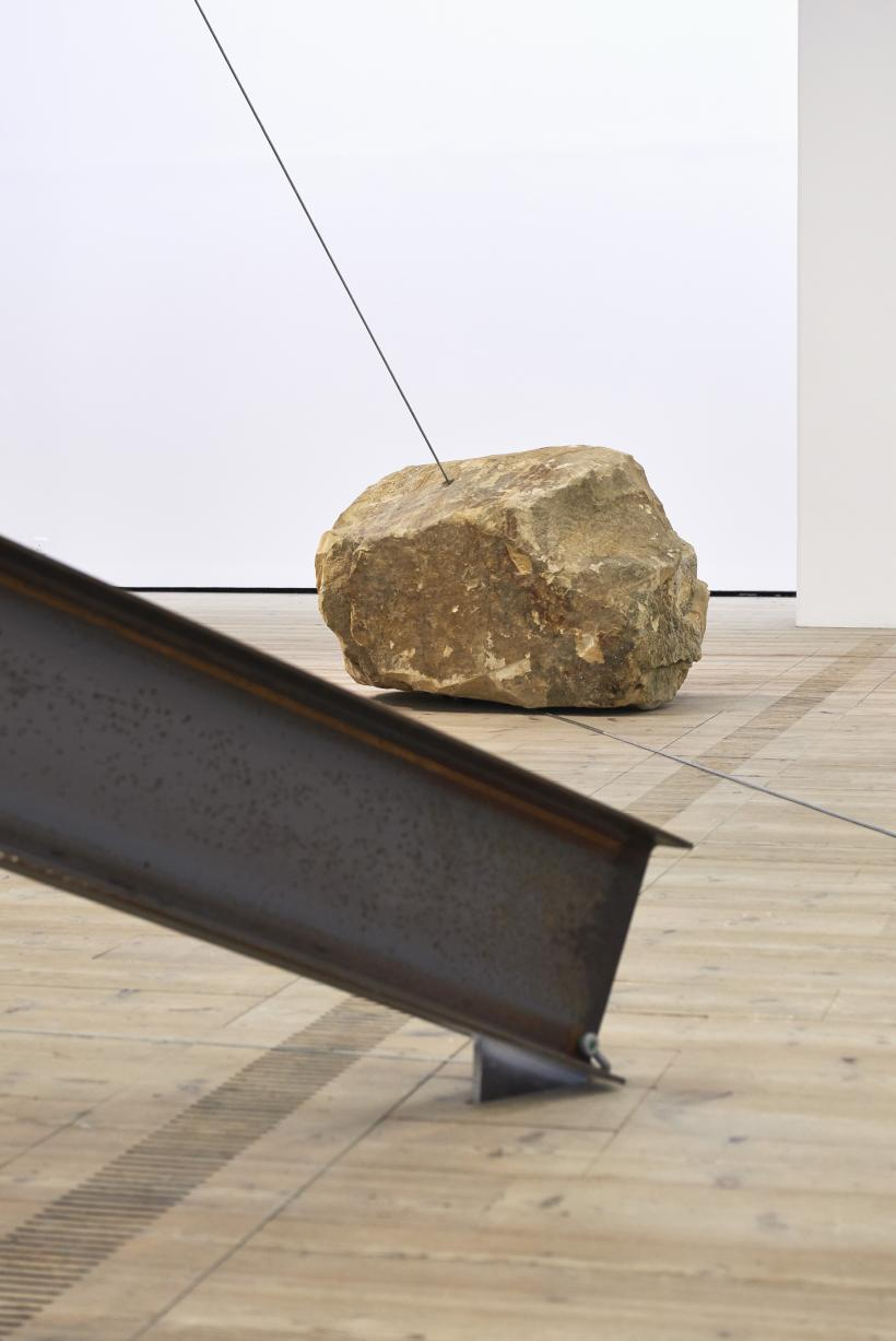 Jose Dávila, The weaker has conquered the stronger 2017, BALTIC Artists' Award 2017, installation view, BALTIC Centre for Contemporary Art, Gateshead.