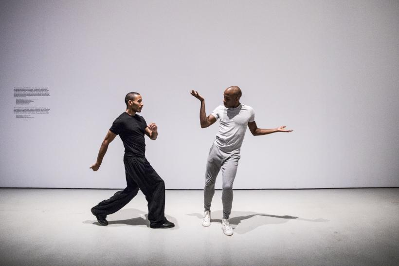 Wall Dance, Trajal Harrell: Hoochie Koochie, A performance exhibition, Barbican Art Gallery, London
