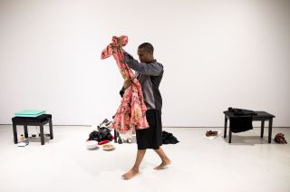 The Return of La Argentina, Trajal Harrell: Hoochie Koochie, A performance exhibition, Barbican Art Gallery, London