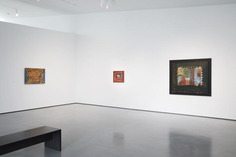 Installation image of Howard Hodgkin: Painting India, 1 July - 8 Oct 2017 at The Hepworth Wakefield.