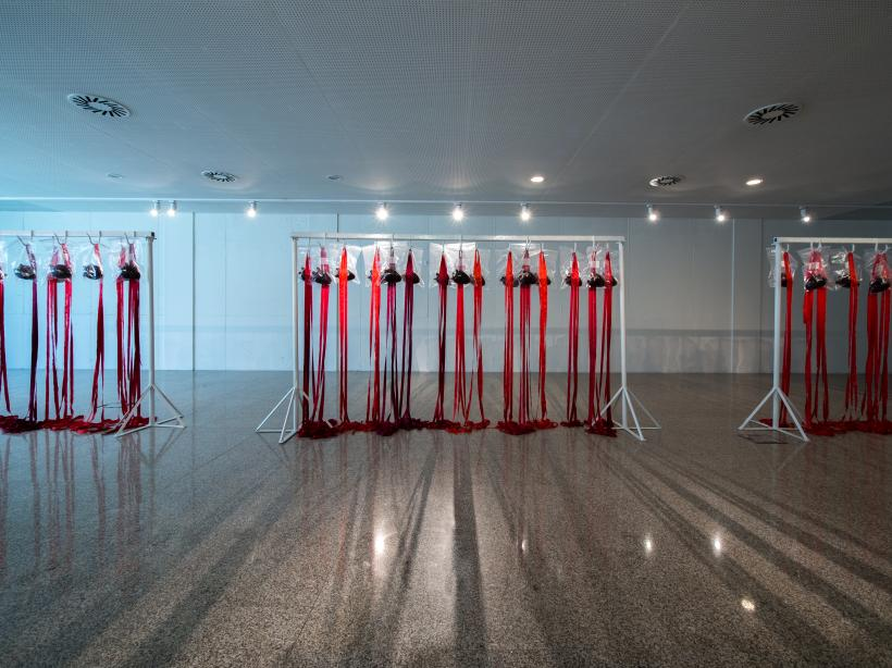 Installation view, Cristina Rodrigues