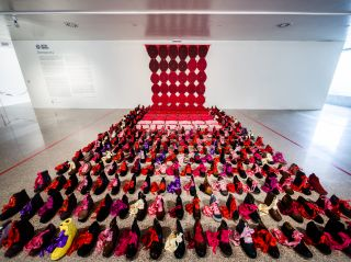 Installation view, Cristina Rodrigues