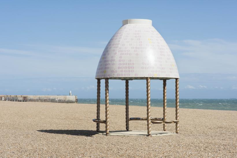 Lubaina Himid, Jelly Mould Pavilion.