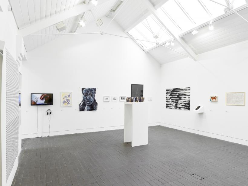 Installation view, Jerwood Drawing Prize 2017, supported by Jerwood Charitable Foundation