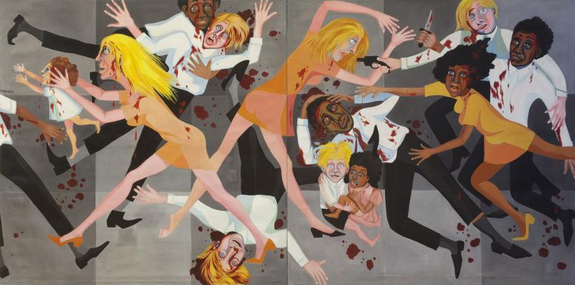 Faith Ringgold, America People #20 Die