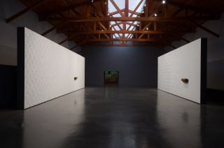 Installation view of All of a Tremble