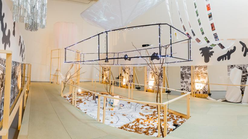 The edge parallel (of life and architecture) installation view 4