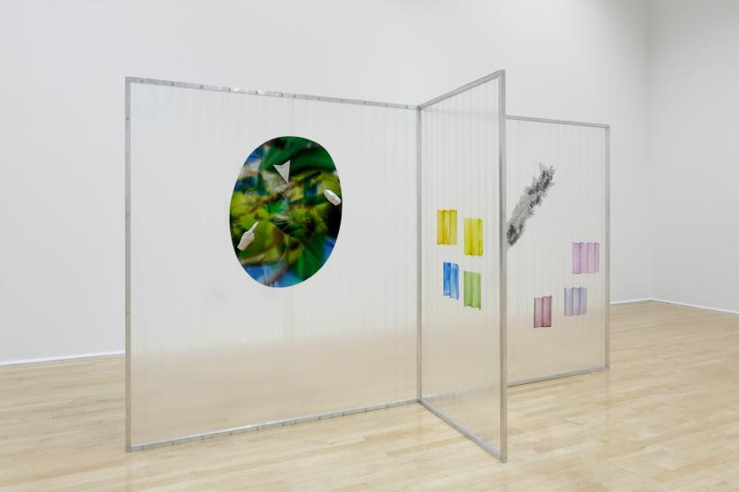 OLIVE_olive_LAVENDER_lavender, installation view
