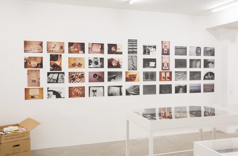 Beth Laurin: Provisorium, installation view, Index 2017
