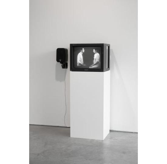 Installation shot. Marina Abramovic. Light Dark with Ulay. 1978. Courtesy the artist and Lisson Gallery
