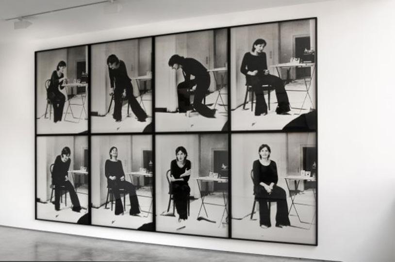 Installation shot. Marina Abramovic. Rhythm 2. 1974. Courtesy the artist and Lisson Gallery