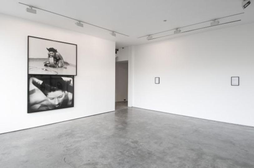 Installation shot. Marina Abramovic. Rhythm 4. 1978. Courtesy the artist and Lisson Gallery