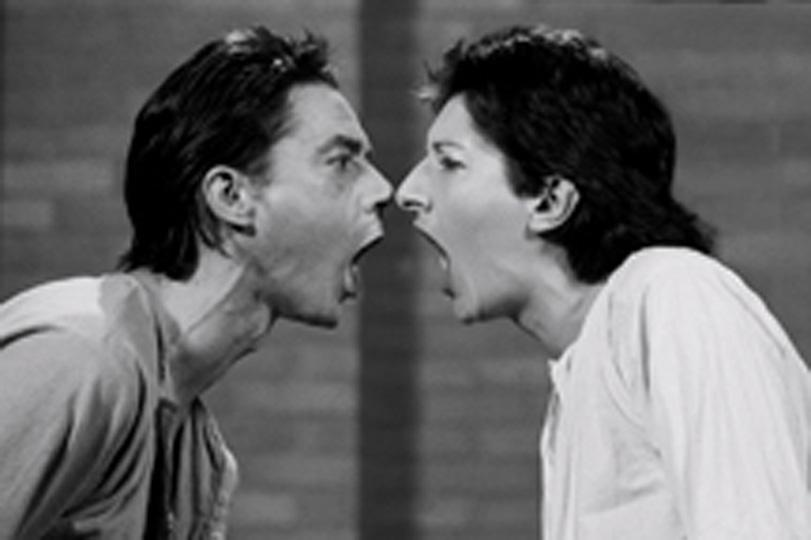 Marina Abramovic. AAA   AAA. 1978. Image courtesy Marina Abramovic and Lisson Gallery