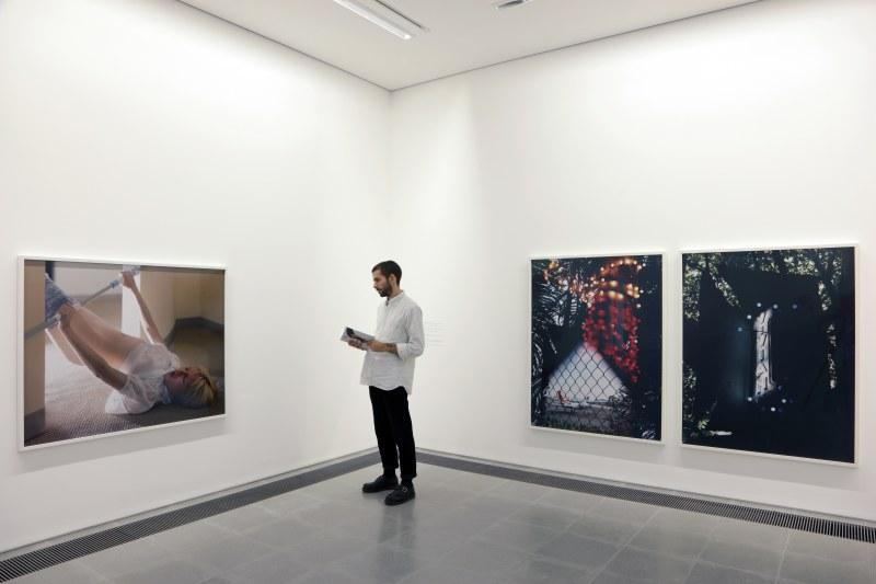Torbjørn Rødland, Installation view, The Touch That Made You Serpentine Sackler Gallery, London (29 September – 19 November 2017)