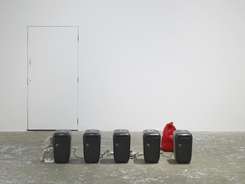Hannah Black, Some Context (2017). Installation view, Chisenhale Gallery, 2017. Commissioned and produced by Chisenhale Gallery.