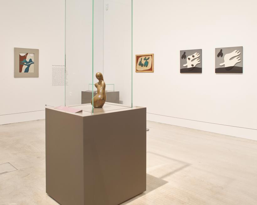 Installation view of Jean Arp: The Poetry of Forms at Turner Contemporary, Margate. 13 October 2017 - 14 January 2018.