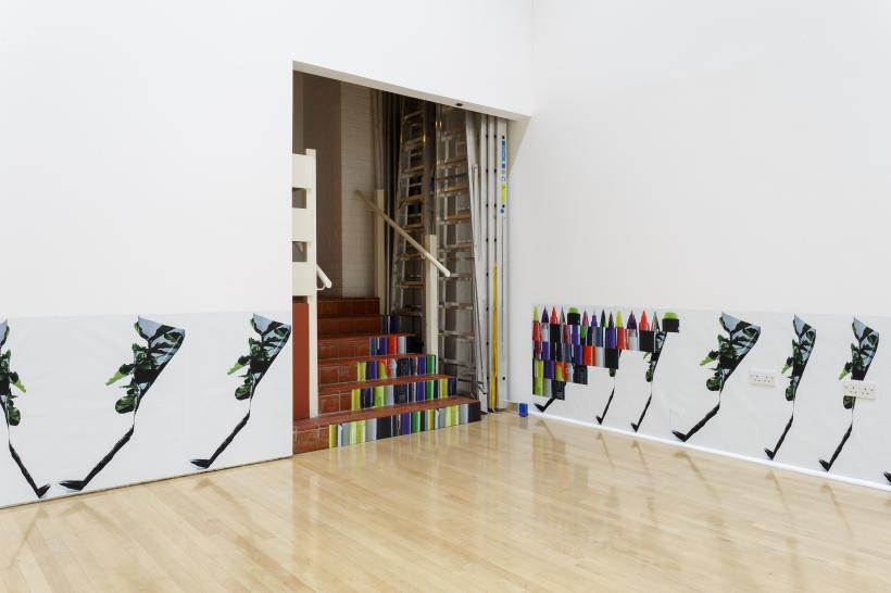 One Room Living, installation view