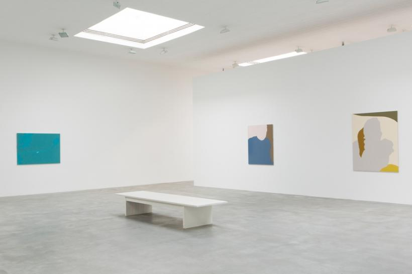 Installation view from Gary Hume: Mum, Matthew Marks Gallery
