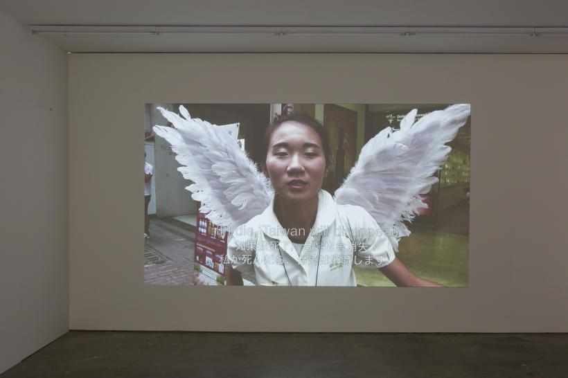Yoshinori Niwa, That Language Sounds Like a Language, installation view, Edel Assanti