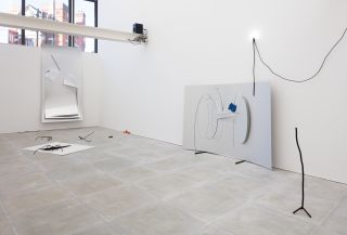 Beatriz Olabarrieta, The only way out is in, installation view, The Sunday Painter, 2017