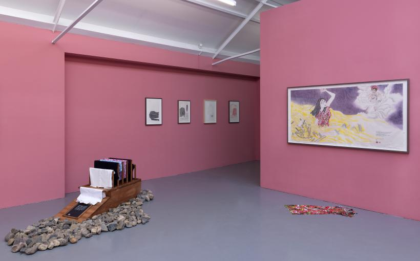 Four Season of Women Tragedy at Galerie Fons Welters, Amsterdam, installation view