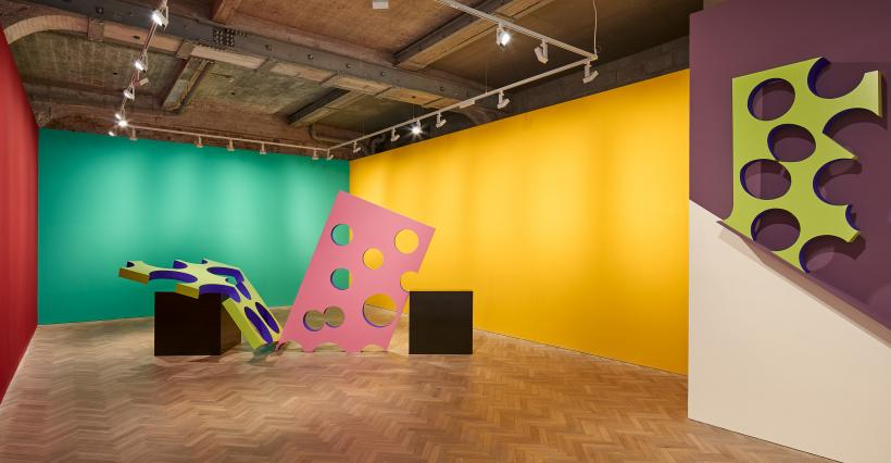 Phillip King, Colour on Fire, 2017. Installation view