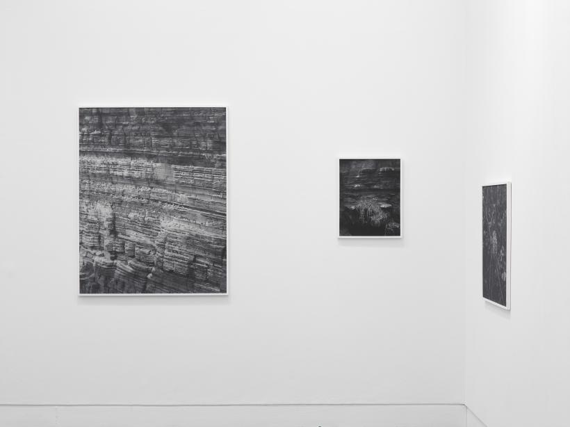 Sam Laughlin, A Certain Movement, 2017 - installation view.