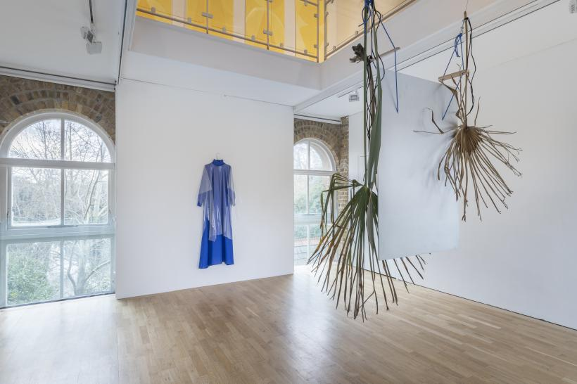 Sriwhana Spong, a hook but no fish installation view, 2017.