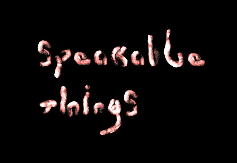 Freya Dooley, Speakable Things (still), Single channel digital film with sound, 15mins, 2018
