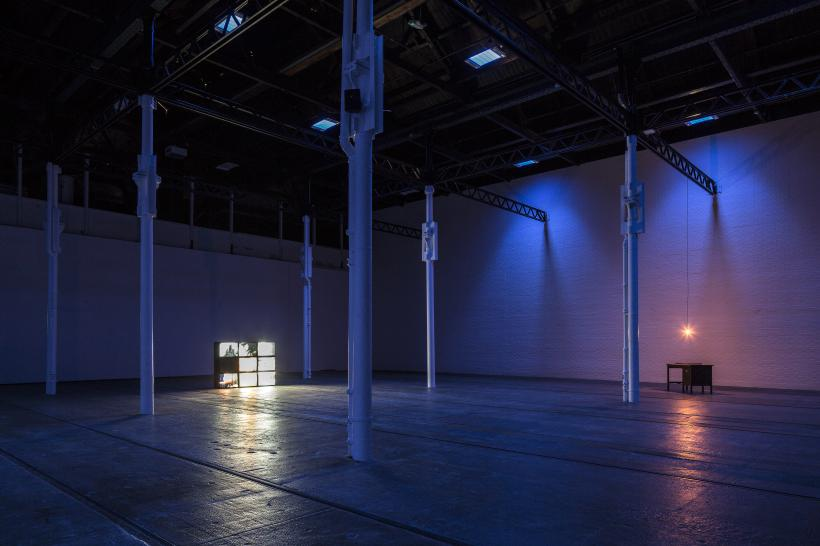 Installation view, Margaret Salmon: Circle, Tramway, Glasgow, 2018