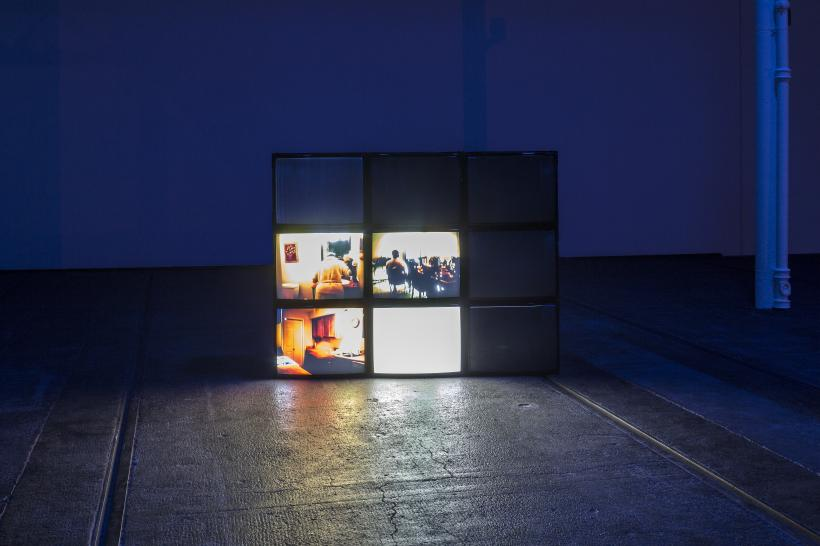 Installation view, Margaret Salmon: Circle, Tramway, Glasgow, 2018