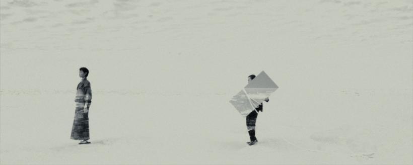 Hiraki Sawa, fish story (video still), 2017, Two channel video installation. Colour, stereo sound. 8m 32s duration.