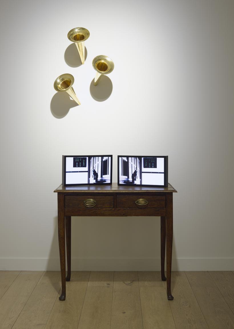Hiraki Sawa, fantasmagoria, installation view, Parafin, London, 2018