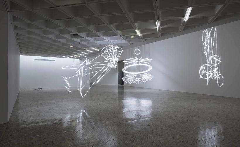 Cerith Wyn Evans, Museo Tamayo, installation view, 2018