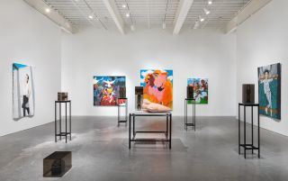 """Photo caption - Installation view, 2018 Triennial: """"Songs for Sabotage"""""""