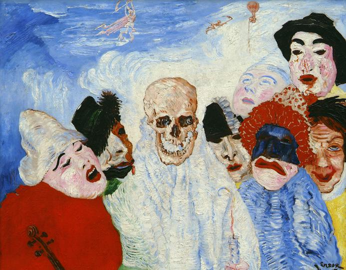 Ensor Death and the Masks combi 1