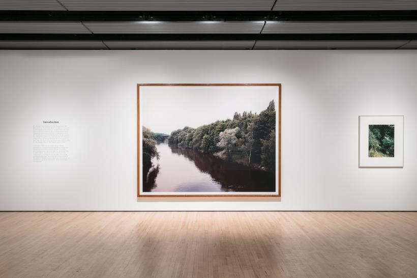 Installation image, Andreas Gursky at Hayward Gallery 25 January - 22 April 2018